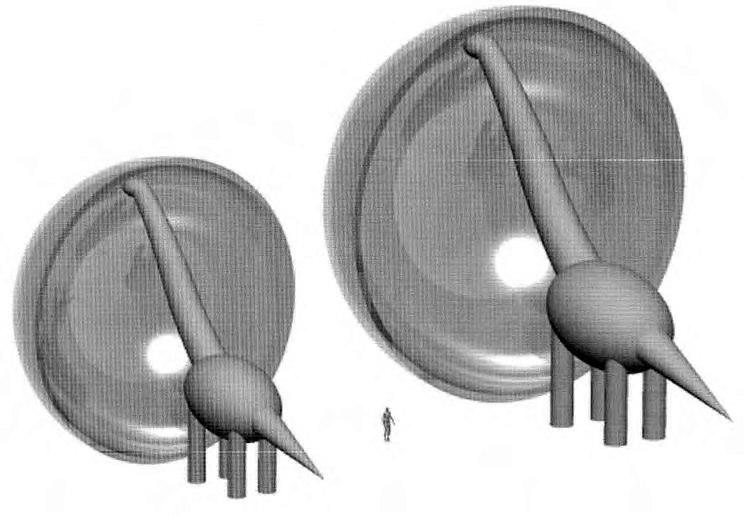 Sauroposeidon feeding