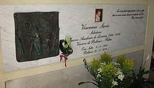 Vincenzo Savio - Vincenzo Savio's tomb.