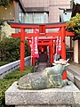 Sawahime Inari Shrine in Kagami Temman Shrine.jpg