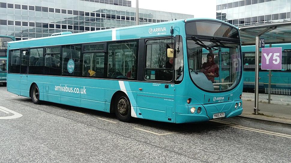 Scania L94 UB Wrightbus Solar Arriva Milton Keynes 3621 YN55 PZY