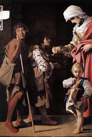 Bartolomeo Schedoni - Bartolomeo Schedoni, Charity, 1611, Museo di Capodimonte, Naples