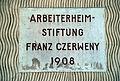 Schild Arbeiterheimstiftung Czerweny.jpg