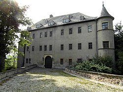 The castle in Lichtenstein.