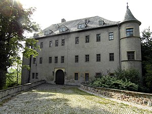 Lichtenstein, Saxony - The Old Castle at Lichtenstein