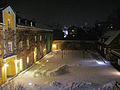 Schloss Tutzing, 1. Hof im Schnee.JPG