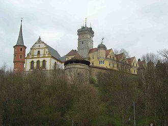 Scheinfeld - Image: Schloss schwarzenberg franken 1