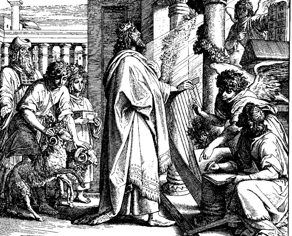 Schnorr von Carolsfeld Bibel in Bildern 1860 134