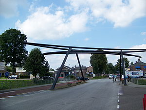 Schoonoord, Coevorden - A bridge in the centre of the village