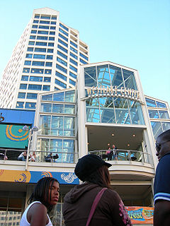 Westlake Center shopping center and office tower in Seattle, Washington