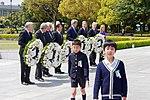 Secretary Kerry and His G7 Counterparts Prepare to Lay Wreaths at the Hiroshima Peace Memorial Park (26270767092).jpg