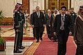 Secretary Pompeo Meets with Saudi King Salman in Jeddah (48119286441).jpg