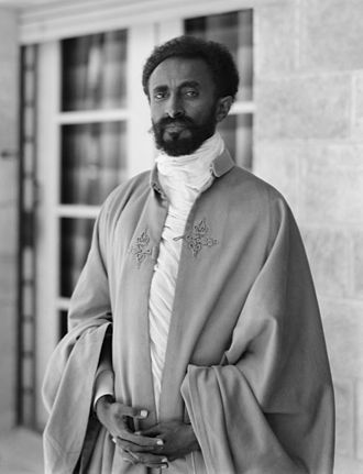 Rastafari - Haile Selassie, photographed in the 1930s
