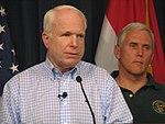 Senator John McCain and Congressman Mike Pence.jpg