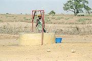 Puits d'eau au Sénégal