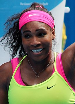 Serena Williams Australian Open 2015 (cropped)
