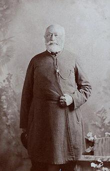 С.И.Мальцов на фотографии С.Л.Левицкого (1870-е)
