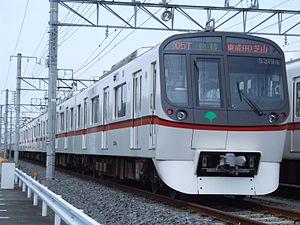 Toei Asakusa Line - A Toei 5300 series EMU