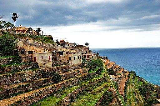Terrassen bei Banyalbufar, Serra de Tramuntana - 9