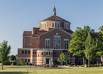 National Shrine of St. Elizabeth Ann Seton - The shrine and basilica