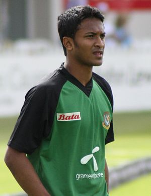 Shakib Al Hasan - Shakib was appointed Bangladesh's vice-captain in June 2009.