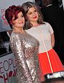 Sharon Osbourne and Kelly Osbourne at the 38th People's Choice Award.jpg