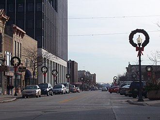 Sheboygan, Wisconsin - Downtown 8th Street