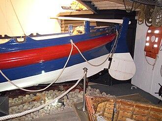 RNLB J C Madge (ON 536) - Image: Sheringham Lifeboat J C Madge ON536 Sheringham Museum 29 03 2010 (8)