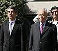 Shimon Peres and Rosen Plevneliev, October 2012. II.jpg