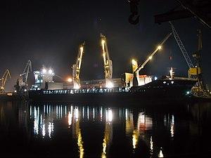 Ship in the port of Riga.jpg