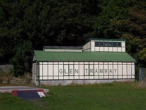 Shipley Glen Tramway - Bottom tramway depot
