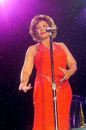 Shirley Bassey - Bassey at Wembley Arena, 2006