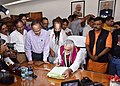 Shri Ashwini Kumar Choubey taking charge as the Minister of State for Health and Family Welfare, in New Delhi on September 04, 2017.jpg