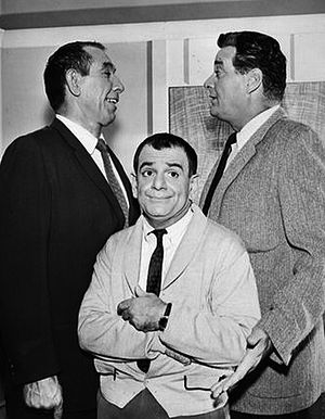 Sid Melton - Image: Sid Melton Charlie Halper Danny Thomas Show 1963