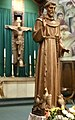 Side View of St Francis of Assisi at St Thomas Aquinas Cathedral in Reno NV USA.jpg