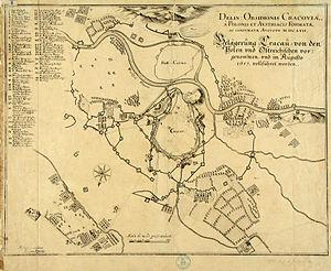 Siege of Kraków (1657) - Image: Siege of Kraków 1657
