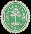 Siegelmarke Gemeinde Klotzsche W0344418.jpg