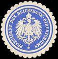 Siegelmarke Praesident des Reichsbank - Direktoriums W0204429.jpg