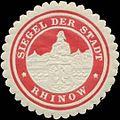 Siegelmarke Siegel der Stadt Rhinow W0345382.jpg