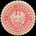 Siegelmarke Stadt-Retamt Wermelskirchen W0386480.jpg