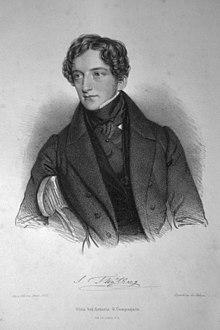 Sigismund Thalberg Lithographie von Andreas Staub, um 1830 (Quelle: Wikimedia)