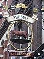 Sign for The Bull, Devonshire Row, EC2 - geograph.org.uk - 1101068.jpg