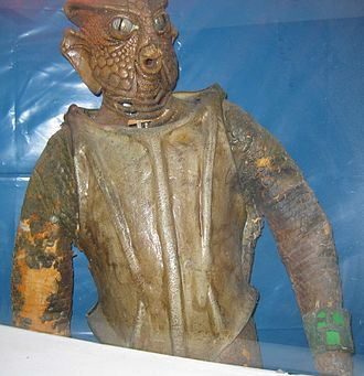 Silurian (Doctor Who) - The original Silurians, on display at a Doctor Who exhibition