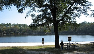 Apalachicola National Forest - Image: Silver Lk Rec Area Oct 07