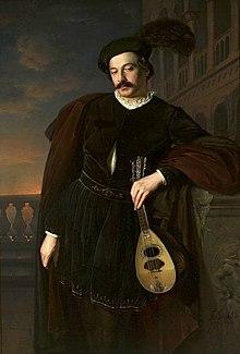 Don Giovanni in un ritratto di Józef Simmler.