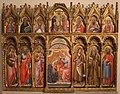 Simone dei crocifissi, polittico dai ss. leonardo e orsola, 1385-90 ca. 01.jpg