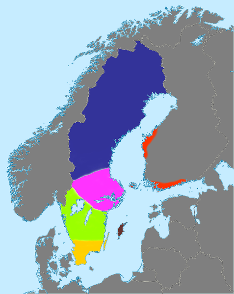 Fil:Simplified map of dialects in Sweden.png