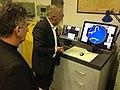 Simulatore di manovra e Sala Radar con gli apparati per la simulazione radar.jpg