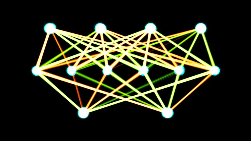 Single-layer feedforward artificial neural network
