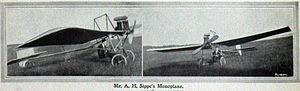 Sydney Vincent Sippe - The Sippes' monoplane