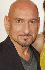 Photo of Ben Kingsley at the 2008 Tribeca Film Festiva.